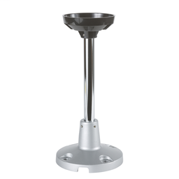 XVCZ13 - Aluminium mounting tube, with metal fixing plate, for towerlight XVC 100 mm, and beacon XVR 106 and 120 mm