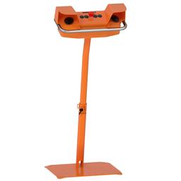 XY2SB714 - 2-hand control station + pedestal – 2 pushbuttons+1 Emergency Stop mushroom head