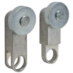 VA1 - L100/300 limit switch lever – aluminum – adj. 75°-180° fork – outside rollers