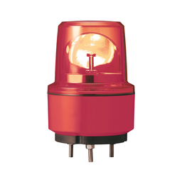 XVR13J04 - Rotating beacon, 130 mm, red, without buzzer, 12 V DC