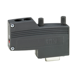 VW3CANKCDF180T - CANopen female SUB-D9 connector – straight