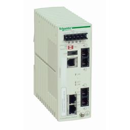 TCSESM043F2CS0 - Ethernet TCP/IP managed switch – ConneXium – 2TX/2FX – single mode