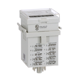 TDRPRO-5101 - Time delay relay, Legacy, SPDT, 12A, 12-240 VAC/DC, 100 ms to 9990 hours, 7 time scales, 10 functions, socket compatible