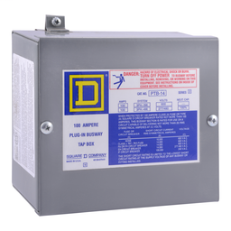 PTB14 - BUSWAY PLUG-IN CABLE TAP BOX