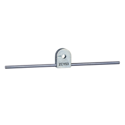 ZCY53 - Limit switch lever ZCY – steel round rod lever 3 mm, L = 125 mm