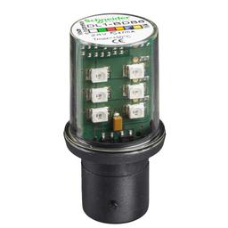 DL1BDB6 - Protected LED bulb, BA 15d, blue, steady light, 24 V AC/DC