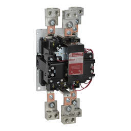 8903SZO2V02S - Contactor, Type S, multipole lighting, electrically held, 600A, 3 pole, 110/120 VAC 50/60 Hz coil, open style