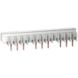 10193 - Multi 9 – comb busbar – 3L with Aux – 18 mm pitch – 12 modules – 80A