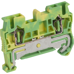 NSYTRR22PE - SPRING TERMINAL, PROTECTIVE EARTH, 2 POINTS, 2,5MM², GREEN-YELLOW