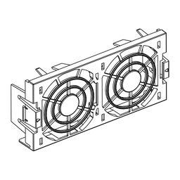 VZ3V1204 - Fan for variable speed drive