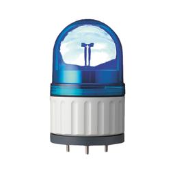 XVR08J06 - Rotating beacon, 84 mm, blue, without buzzer, 12 V AC DC