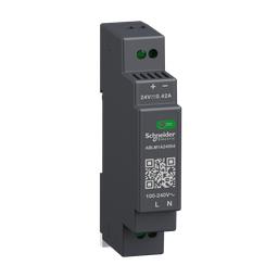 ABLM1A24004 - Regulated Power Supply, 100-240V AC, 24V 0.4 A, single phase, Modular