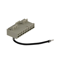 ABE7BV10 - Connection sub-base accessory – snap-on terminal block – 10 screw terminals