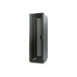 AR3810 - NetShelter AV 42U 600mm Wide x 825mm Deep Enclosure with Sides and 10-32 Threaded Rails Black