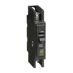 QOU110 - QOU Miniature Circuit Breaker, 10A, 1P, 120/240V, 10kA