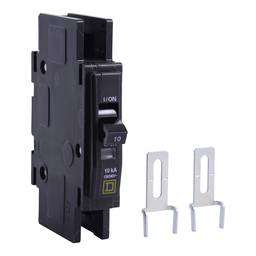 QOU1105283 - QOU Miniature Circuit Breaker, 10A, 1P, 120/240V, 10kA, Ring Terminal