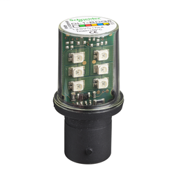 DL1BDG8 - YELLOW LED BA15 120VAC