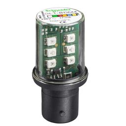 DL1BDG1 - WHITE LED BA15D 120VAC
