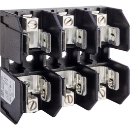 9080FB3621J - Terminal block, Linergy, fuse holder, Class J, 60A, 600 V, 3 pole