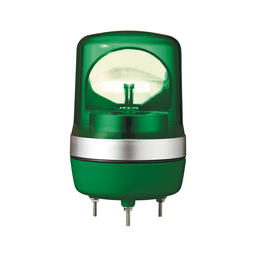 XVR10B03 - Rotating beacon, 106 mm, green, without buzzer, 24 V AC DC