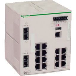 TCSESM163F2CU0 - Ethernet TCP/IP managed switch – ConneXium – 14TX/2FX – multimode