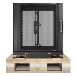 AR3003SP - APC NetShelter SX 12U Server Rack Enclosure 600mm x 900mm w/ Sides Black Shock Packaging