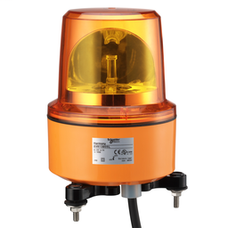 XVR13M05L - Rotating beacon, 130 mm, orange, without buzzer, 230 V AC