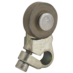 7A2 - 9007MS/ML limit switch lever – zinc – fixed length – outside steel roller