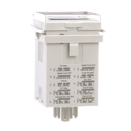 TDRPRO-5100 - Time delay relay, Legacy, DPDT, 12A, 12-240 VAC/DC, 100 ms to 9990 hours, 7 time scales, 10 functions, socket compatible