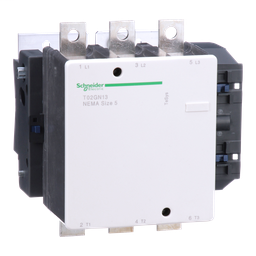 T02GN13G7 - TeSys N contactor, NEMA Size 5, 270 A, 3P, HP rated, 120 VAC 60 Hz coil