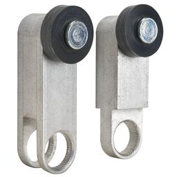 VAN - L100/300 limit switch lever – aluminum – adj. 75°-180° fork – outside rollers