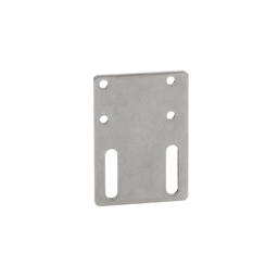 XXZ3074F - Accessory for XX7-K – flat fixing plate – metallic