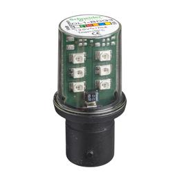 DL1BDG3 - GREEN LED BA15D 120VAC