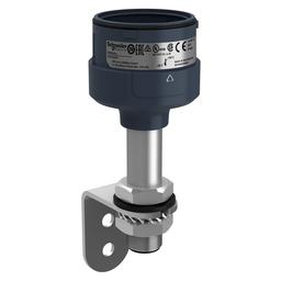 XVUZ100T - Fixing metal bracket with 100 mm aluminium pole for modular tower lights, black, Ø60