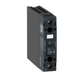 SSD1A335M7C2 - Soild state relay-DIN rail, 1phase, 48-600Vac output, 90-280Vac/Vdc control, 35A