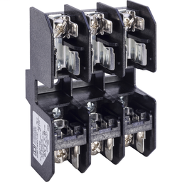 9080FB3611CC - Terminal block, Linergy, fuse holder, Class CC, 30A, 600 V, 3 pole