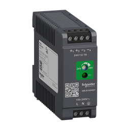 ABLS1A24021 - Regulated Power Supply, 100-240V AC, 24V 2.1 A, single phase, Optimized