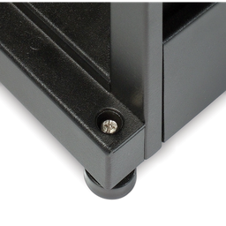 AR3357X617 - NetShelter SX 48U 750mm Wide x 1200mm Deep Enclosure Without Sides Without Doors Black