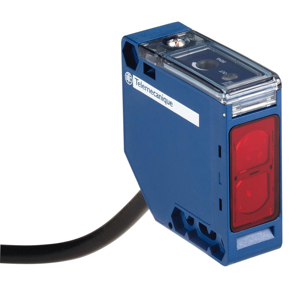 Mayer-Photo-electric sensor - XUK - diffuse - Sn 1m - 24..240VAC/DC - cable 2m-1
