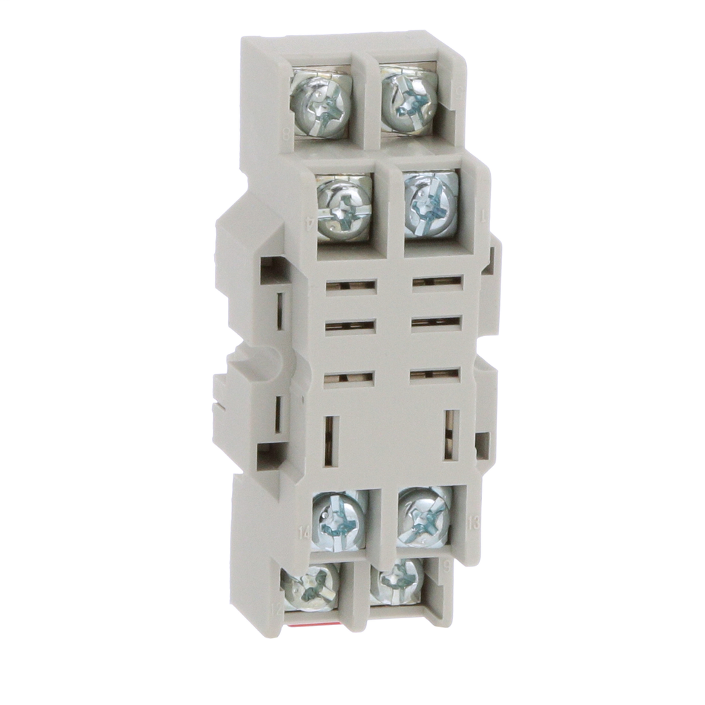 Mayer-Plug in relay, Type N, relay socket, 8 blade, for 8510R relays, bulk packaged-1