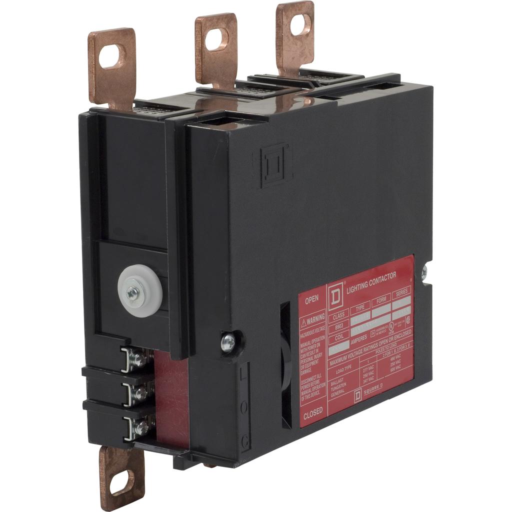 Mayer-Panelboard lighting contactor, 225 AMP, 3 pole, bus mount, 120V 60Hz coil-1