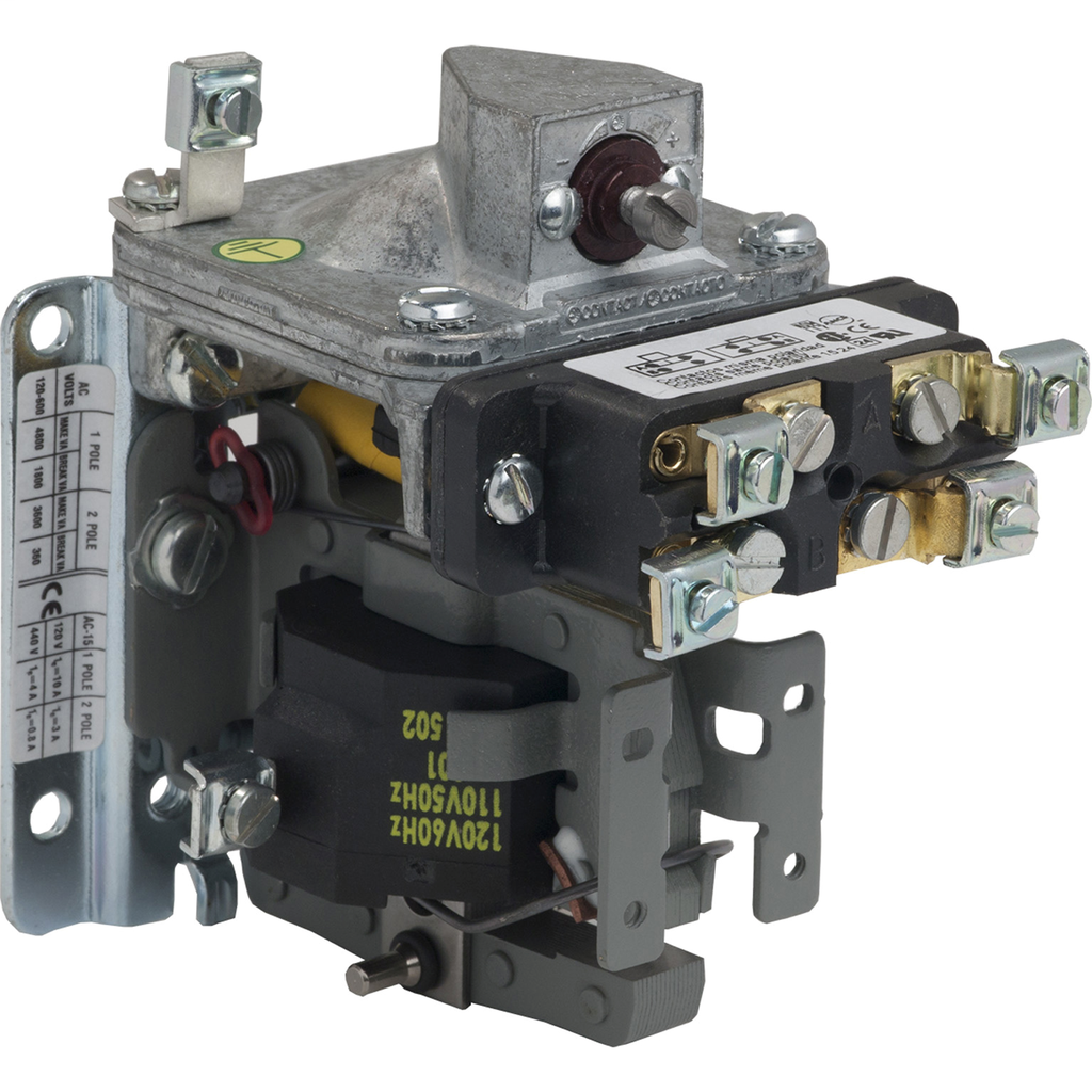 Mayer-Pneumatic Timer, on delay, 0.1 to 60 seconds, 440/480 VAC 50/60 Hz, DPDT-1