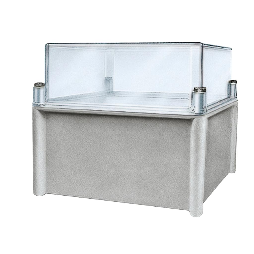 Mayer-PLS box, polyester rear, transparent PC cover IP66 36x54x23cm-1