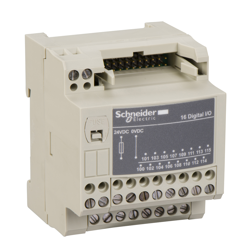 Mayer-Passive connection sub-base ABE7 - 16 inputs or outputs - Micro/Premium cable 2m-1