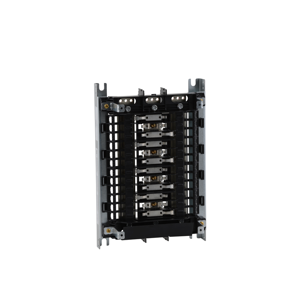 Mayer-Panelboard interior, NQ, main lugs, 600A, Cu bus, 24 pole spaces, 3 phase, 4 wire, 240 VAC, 48 VDC-1