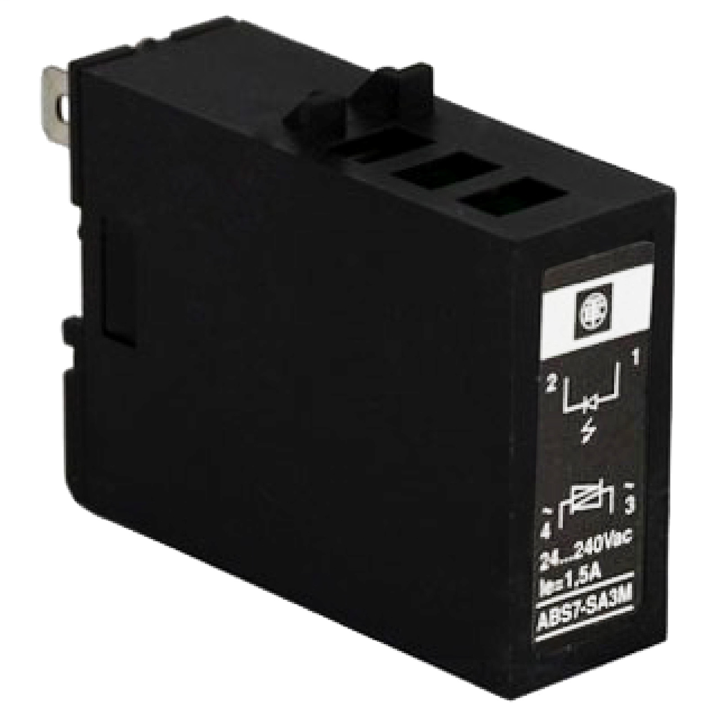 Mayer-Plug-in solid state relay - 12.5 mm - output - 24..240 V AC - 2 A-1