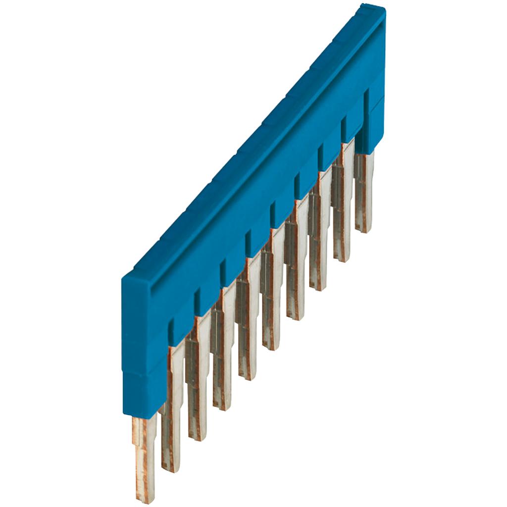 Mayer-PLUG-IN BRIDGE, 10POINTS FOR 4MM² TERMINAL BLOCKS, BLUE-1