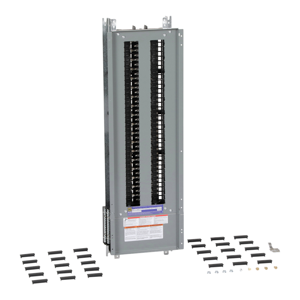 Mayer-Panelboard interior, NQ, main lugs, 225A, Cu bus, 72 pole spaces, 1 phase, 3 wire, 240 VAC, 48 VDC-1