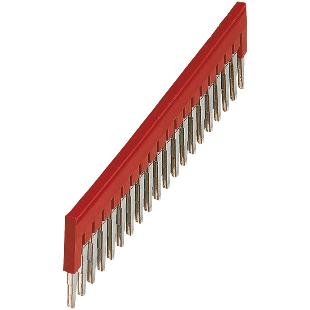 Mayer-PLUG-IN BRIDGE, 20POINTS FOR 4MM² TERMINAL BLOCKS, RED-1