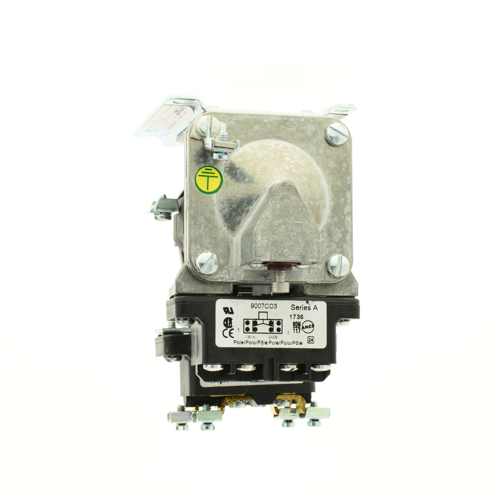 Mayer-Pneumatic Timer, off delay, 0.1 to 60 seconds, 110/120 VAC 50/60 Hz, timed and instantaneous-1
